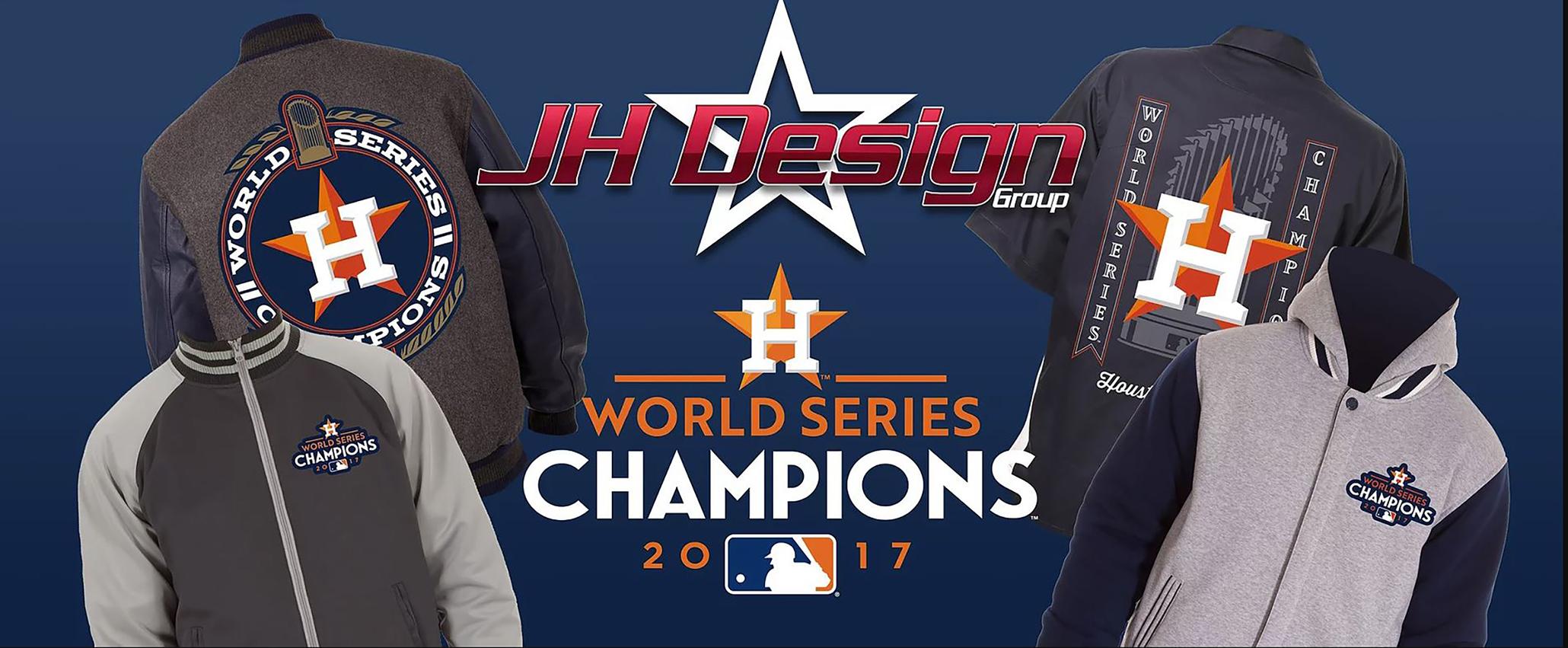 2017 WORLD SERIES CHAMPIONS HOUSTON ASTROS