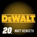 MATT KENSETH 20 DEWALT