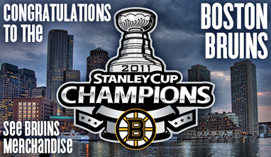 2011 Stanley Cup Championships Bruins