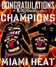 2012 NBA CHAMPIONS MIAMI HEAT