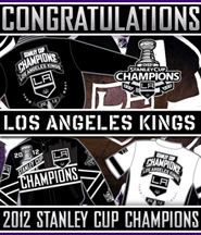 2012 Stanley Cup Champions LA KINGS