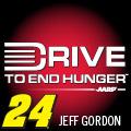 JEFF GORDON 24 DRIVE TO END HUNGER