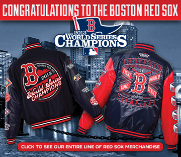 2013 WORLD SERIES BOSTON REDSOX