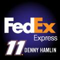 DENNY HAMLIN 11 FEDEX