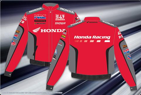 HON 303 RAC0 RED