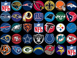 NFL COLLAGE JACKETS