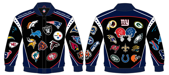 NFL COLLAGE TWILL