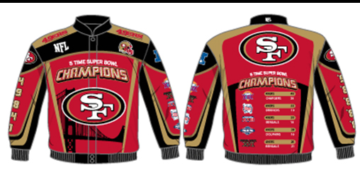 49ers Comm Jackets For You