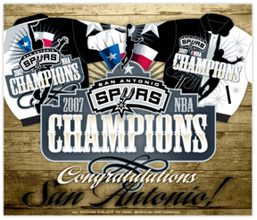 Spurs 2007 NBA Champions