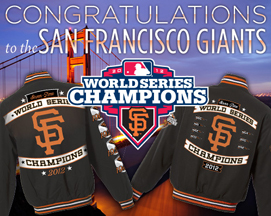 2012 World Series SF Giants