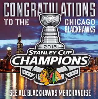 2013 Stanley Cup Champions Blackhawks