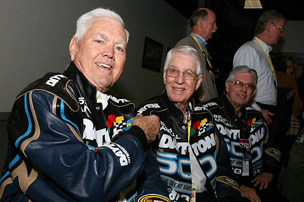 Junior Johnson, Glenn Wood & Leonard Wood