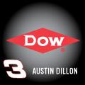 Austin Dillon 3 Dow