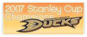 2007 For DUCKS NHL Champions