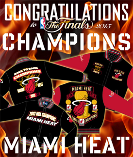 2013 NBA CHAMPIONS MIAMI HEAT