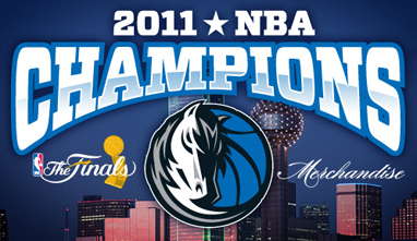 2011 NBA Champions Dallas Mavericks
