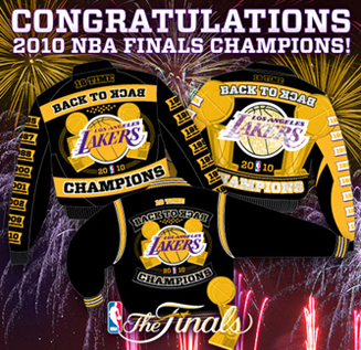 2010 NBA Champions LA Lakers