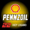 JOEY LOGANO 22 PENNZOIL