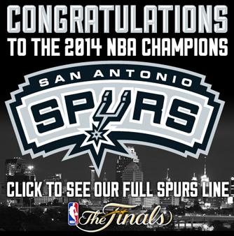 2014 NBA Champions Spurs