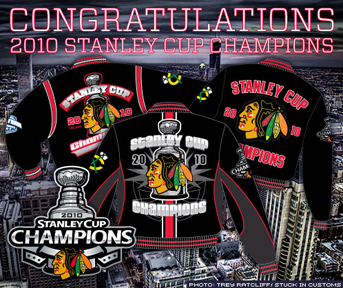2010 Stanley Cup Champions Blackhawks