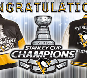 2016 STANLEY CUP CHAMPIONS PITTSBURGH PENGUINS