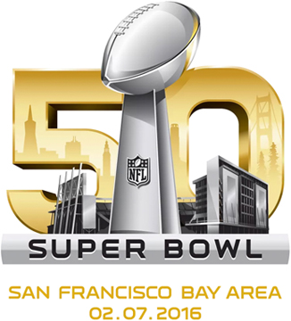 "2016 SUPERBOWL 50 ""SAN FRANCISCO"""