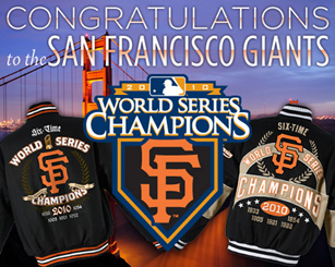 2010 World Series Champions