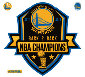 2018 NBA CHAMPIONS GOLDEN STATE WARRIORS