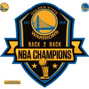 2018 NBA CHAMPIONS GOLDEN STATE WARRIORS A